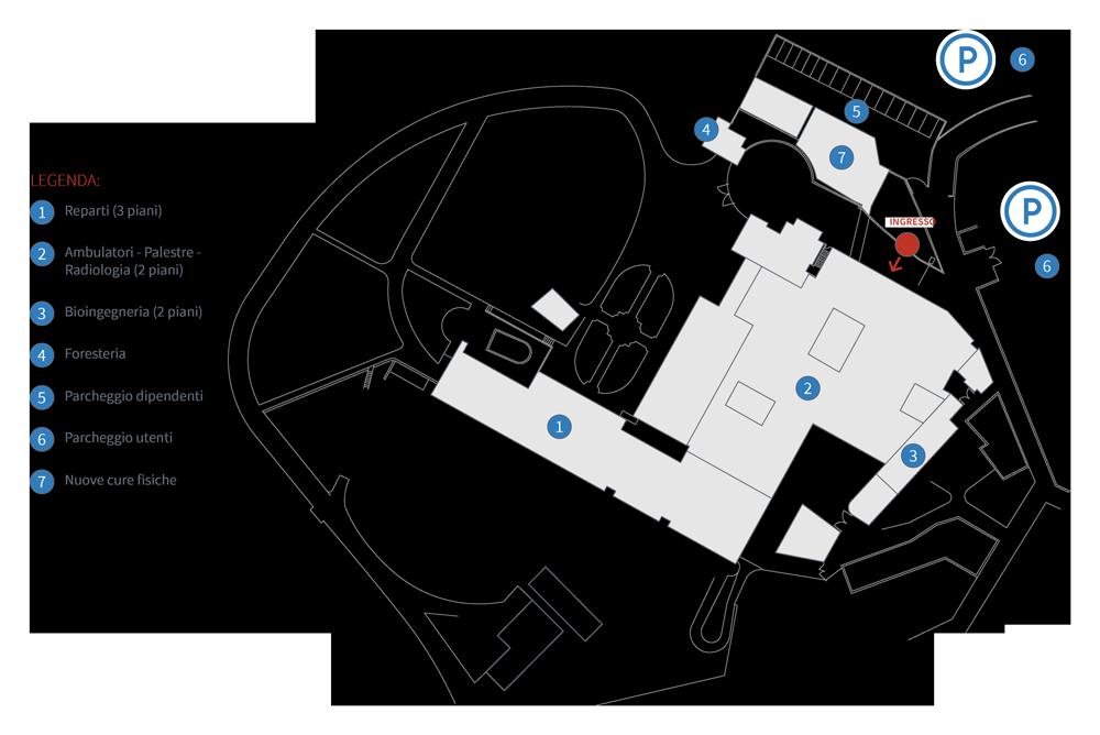 Mappa Villa Beretta